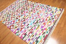5' x 8' New handmade Cotton & Polyster Kilim Dhurry Area rug 5x8