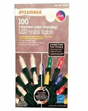 Sylvania LED 3-Function Color Changing Mini Lights - Perfect for the Holidays