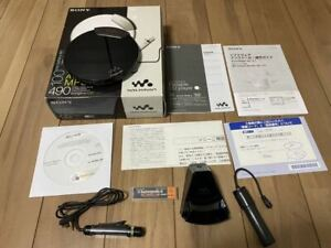Sony D-NE820 CD Walkman Black w/Box Tested Working Good F/S