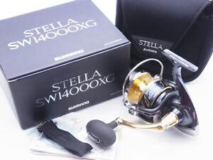 2013 Shimano Stella SW 14000XG Spinning Reel Made In Japan Very Good+ W/Box