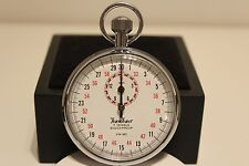 "VINTAGE GERMANY SPORT WORKS STOP WATCH CHRONOMETER 1/10 SEC ""HANHART"" 7 JEWELS"