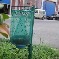 Piège à mouches vert réutilisable insecticide cage piège à filet piège à inse_ft