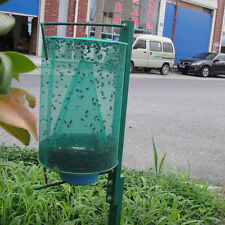 Reusable Green Fly Killer Cage Net Trap Insert Bug Pest Hanging Catcher outdoor