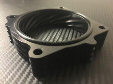 (X707) BLACK Throttle Body Spacer for 2005 - 2012 Jeep GRAND CHEROKEE 5.7l 6.1l