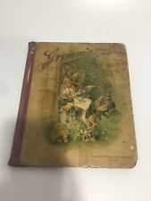 Grimm's Household Fairy Tales (1893) Vintage Book