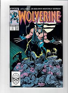 WOLVERINE #1 Grade 9.4!!! 1st ongoing series! Wolvy called Patch for first time!