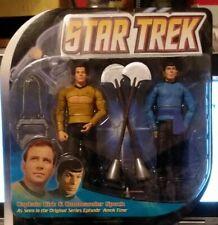 Star Trek Amok Time Kirk Spock 2 Pack Diamond Select Toys 2008 Figures NIP