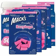 Macks Dreamgirl Ear plugs Soft Foam Comfort Earplugs Noise Blocker Sleep Work