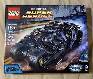 LEGO DC Comics The Tumbler Batman The Dark Knight Trilogy #76023 MISB Retired