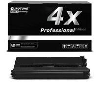 4x Eurotone Pro Toner Negro XL Compatible para Brother HL-L-8260-CDW