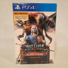 The Witcher 3 Blood and Wine ~ PS4 ~ Expansion Pack/Code Gwent Cards ~ BRAND NEW