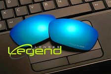 E48 Ice Blue ETCHED POLARIZED Replacement Legend Lenses For Oakley HIJINX