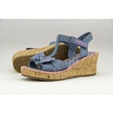 Scarpe Sandali blu Skechers per bambine dai 2 ai 16 anni