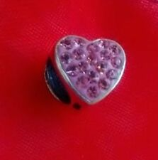 Pink Sterling Silver Fine Charms
