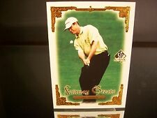 Rare Lee Janzen Upper Deck SP Authentic 2001 Card #101 Golf