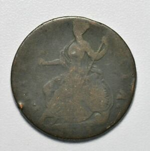 GB GEORGE III HALFPENNY 1775 ++ COLONIAL - NICE GRADE!! ++ [043-05]