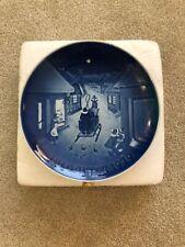 1979 Bing & Grondahl Plate B & G White Christmas Copenhagen Denmark 9079