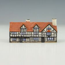 Antique Goss Crested China - Shakespeare's House - Cottage Figure