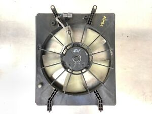 01-02 Acura MDX Radiator Cooling Fan Denso Assy Shroud Motor Blades Used OEM