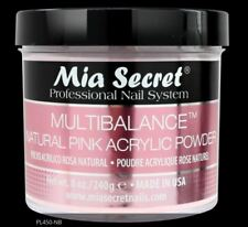 Mia Secret Professional Nail System Mutibalance Natural Pink Acrylic Powder 8oz
