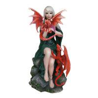 Statua Fata consanguineo del drago 23 cm Anne Stokes Nemesis Now