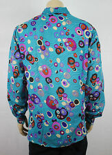 Mens Vtg 70s Style Funky Party Crazy Fresh Prince RetroFestival Shirt XXL/XXXL