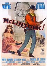 McLintock John Wayne 1963 movie poster print