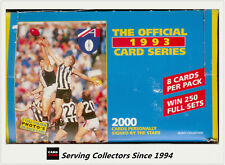1993 Select AFL Trading Cards Factory Box (50 packs)--FIRST Select AFL Cards