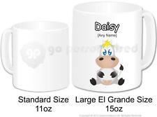 Personalised Gift Farm Animal Silly Cow Mug Cup Large 15oz Custom Novelty Funny