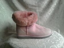 Baby Pink UGG BOOTS .. UK 7 .. Worn once