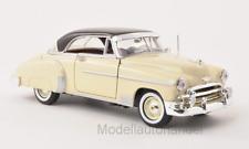 Chevrolet Bel Air Hardtop, hellbeige/dunkelbraun, 1950 - 1:24 MotorMax   *NEW*