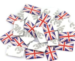 10 pcs Car Interior Styling Sticker British Flag - UK United Kingdom Badge