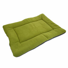 Xl Size Dog Pet Crate Kennel Warm Bed Mat Padding House Cozy Green