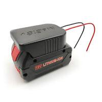 Li-ion Batterie Akku Adapter Konverter DIY Kabel für Milwaukee M18 / Bosch 18V