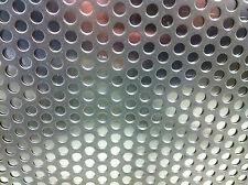 Lastra Lamiera Lamina Forata Acciaio Inox 304 foro mm 2 sp. mm 1 mm 250x1000