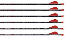 "Easton 4mm Deep 6 FMJ Injexion 330 Arrows Factory Fletched w/ 2"" Blazers 6 Pack"