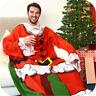 Genuine Snug Rug ™ CHRISTMAS Themed Sleeved Blanket Warm Soft Throw Fleece Xmas
