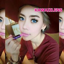 Contact Lenses Pretty Doll Eyes Color Soft Cosmetic Cosplay Lens Vampire Blue