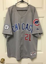Sammy Sosa Chicago Cubs MAJESTIC AUTHENTIC COLLECTION MLB Jersey Carrey Patch