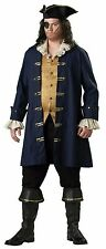 In Character Adult Plus Size Captain Cutthroat Pirate Costume 3XL WITH EXTRAS!!