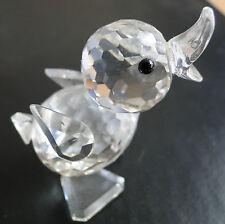 Swarovski Crystal Mini Drake. Rare objet retraité 2005. Perfect cond. ORIG Box.