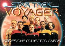 STAR TREK VOYAGER SEASON 1 PROMOTIONAL CARD T1