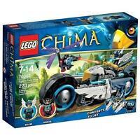 NEW IN BOX LEGO LEGENDS OF CHIMA 70007 EGLORS TWIN BIKE NIB LEGOS SET 223 PCS >>