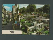 York.  1970's multiview   franked   postcard q250
