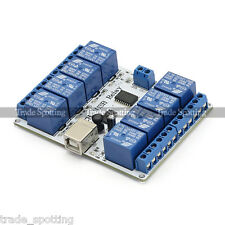 SainSmart 8 channel 12 V USB Relay Module Opto-couple For Arduino Robotics
