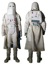 STAR WARS PROPS - SNOWTROOPER DUSTER, PANTS, AND GLOVES.