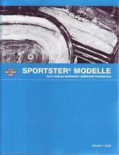 HARLEY Werkstatt Buch 2012 Sportster XL 1200 883C Custom DEUTSCH OEM 99484-12DEA