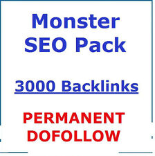 3000+ PERMANENT, DoFollow,Verified Backlinks TOP AUTHORITY ,High PR ! SEO !