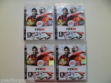 SONY PS3 PLAYSTATION 3 GAME FIFA 09 4 AVAILABLE PRICE FOR 1 GAME