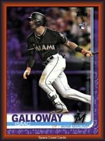 2019 Topps Series 2 PURPLE Isaac Galloway #683 Meijer Exclusive
